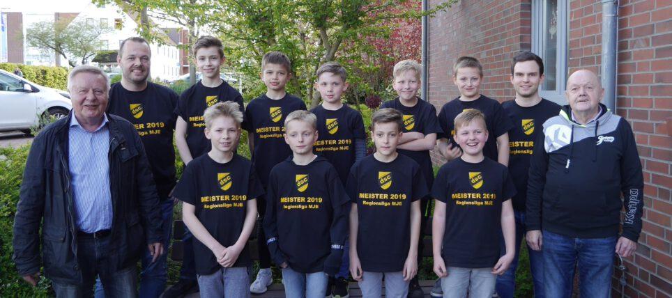 Handball: Nachwuchs der männlichen Jugend E feiert Meisterschaft