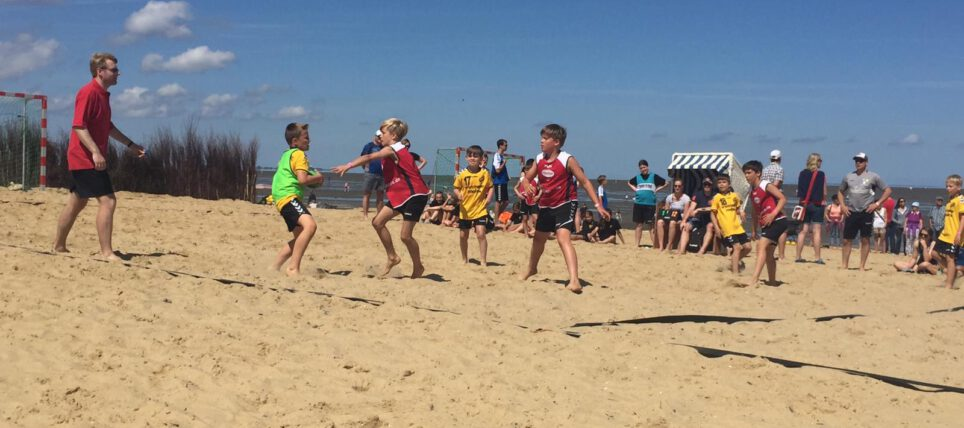 Beachhandball: Dollerner D-Jugend zu Gast an der Nordsee in Cuxhaven