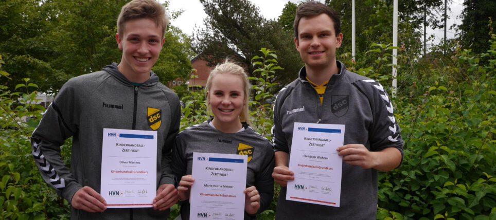 Kinderhandball: Dollerner SC mit vier erfolgreichen Teilnehmern