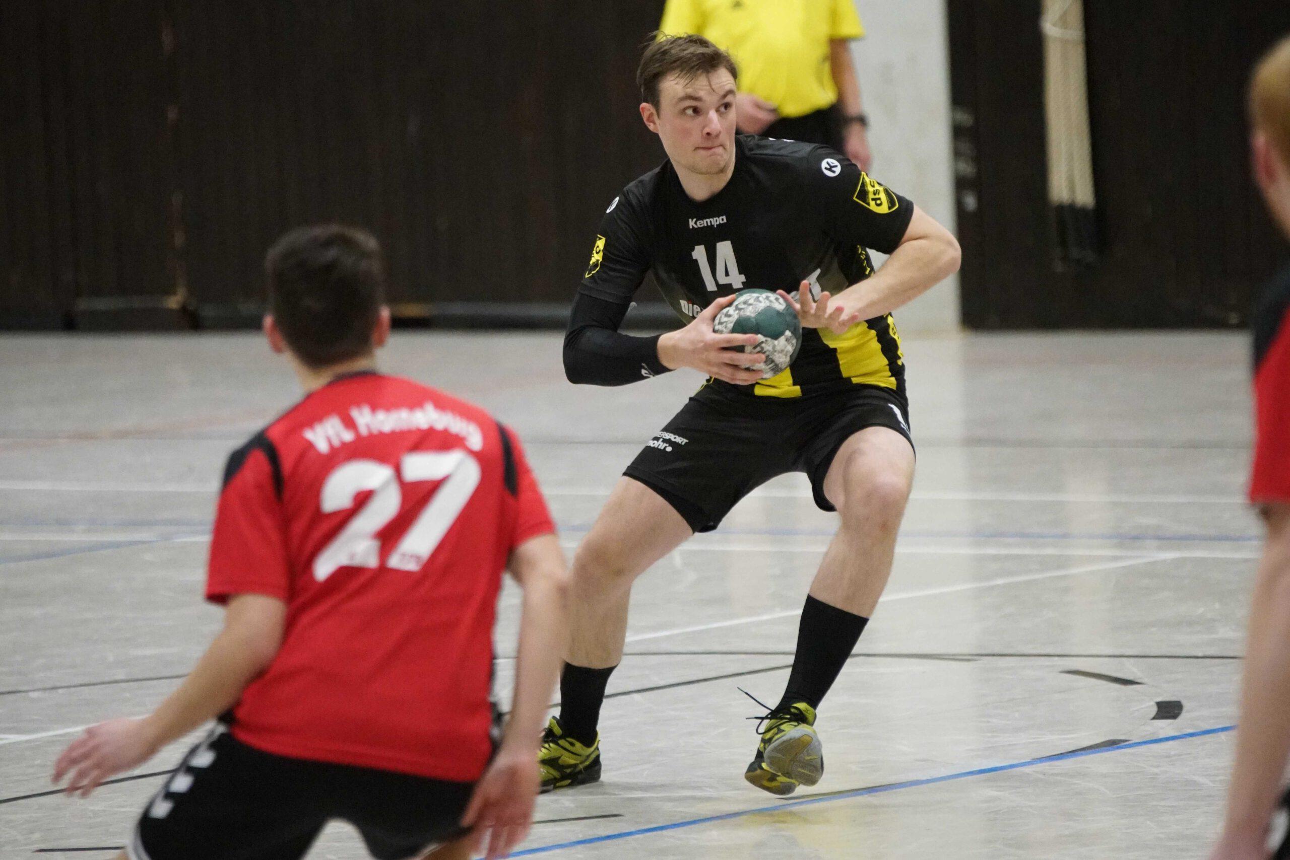 Handball: Atemberaubender Sieg der 1. Herren
