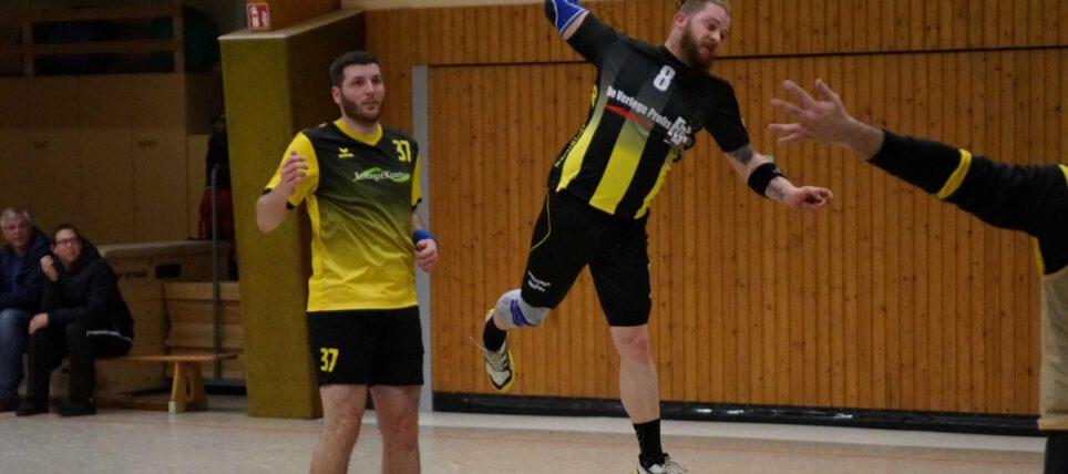 Handball: 1. Herren quält sich ins Viertelfinale des Regionspokals