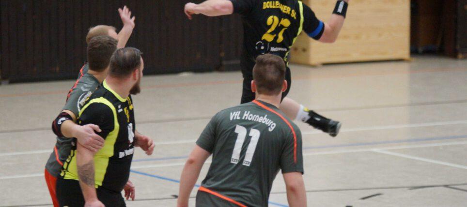 Handball: Eine Halbzeit reicht 2.Herren zum Sieg
