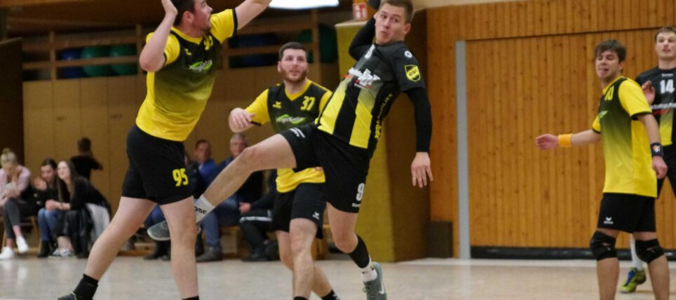 Handball: 1. Herren gewinnt mit 34:26 gegen HG Bremerhaven