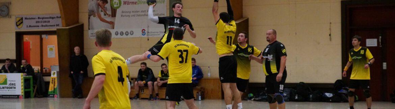 Handball: 1. Herren nach Sieg in Harsefeld nun Tabellenführer – Auswärtssieg mit 24:30