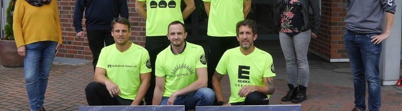 24-Stunden-Spenden-Lauf: Laufteam um Udo Feindt sammelt in Dollern für den guten Zweck
