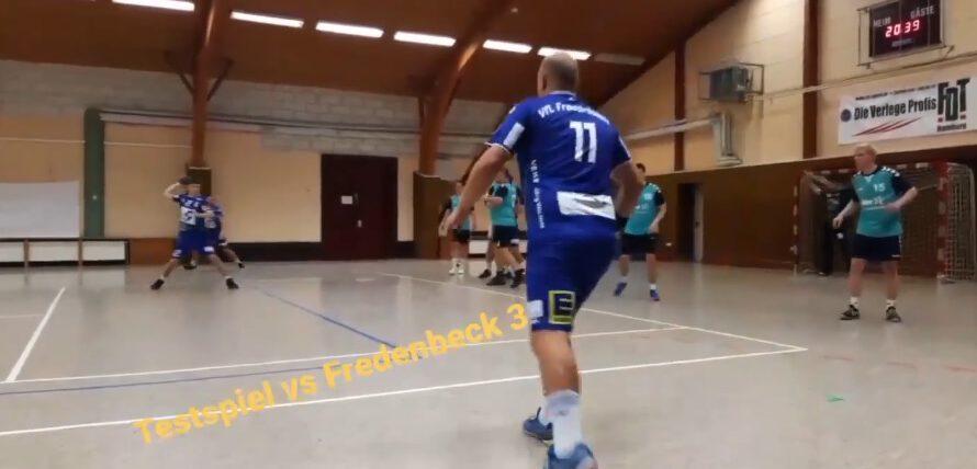 Handball: 1. Herren testen gegen Fredenbeck 3