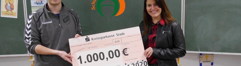 Dollerner Spendenlauf 2020: Übergabe der Spendenschecks an Institutionen im Ort